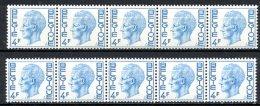 BE   R46 - R46a   XX   ---  Les Deux Papiers  --  Impeccables  --  COB : 46,75 Euros - Coil Stamps