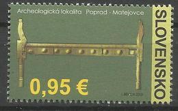 SK 2018-659 Beauties Of Our Homeland: The Archaeological Area – Poprad - Matejovce  SLOVAKIA, 1 X 1V, MNH - Slowakische Republik