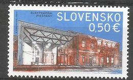 SK 2017-662 Technical Monuments: The Historical Power Plant In Piešťany SLOVAKIA, 1 X 1v, MNH - Slowakische Republik