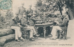 Longwy Rodange (54 Meurthe Et Moselle) Frontière Gendarmes Français Luxembourgeois - Longwy