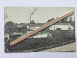 GENAPPE-BOUSVAL «LA FILATURE VÉRITABLE PHOTO-CARTES (1910) «Panorama,animée. - Genappe