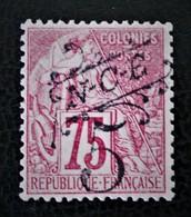 SURCHARGE 1892/93 - NEUF * - YT 37 - MI 35a - Nouvelle-Calédonie