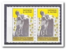 Amerika, Postfris MNH, Happiness Is Helping ( Left Imperf. ) - Machine Stamps (ATM)