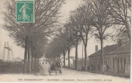 ECHILLAIS  MARTROU       ROUTE DE ROCHEFORT A ROYAN - Other Municipalities