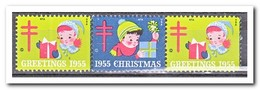 Amerika 1955, Postfris MNH, Christmas - Machine Stamps (ATM)