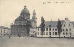 GAND-GENT - La Plaine Et L'Eglise St-Pierre - Thill, Série 3, N° 40 - Gent