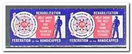 Amerika, Postfris MNH, Rehabilitation, Federation Of The Handicapped ( Left Imperf. ) - Machine Stamps (ATM)