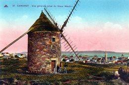 Camaret (29) - Vue Générale Prise Du Vieux Moulin - Be - Non Voyagée - Couleur - Camaret-sur-Mer