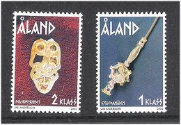 Aland Åland 2002 Iron Age Finds. Mi 210-211 MNH(**) - Aland