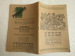 Peter Dorland 1495 Par Léon Chancerel La Hutte 1932/1939 Le Jeu De La Vie Et De La Mort - Theatre
