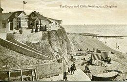 003786  The Beach And Cliffs, Rottingdean, Brighton - Brighton