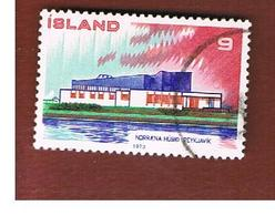 ISLANDA (ICELAND)  -  SG 509 - 1973   POSTAL COOPERATION                           -   USED - 1944-... Repubblica
