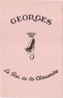 Buvard Georges Le Roi De La Chaussure - Shoes