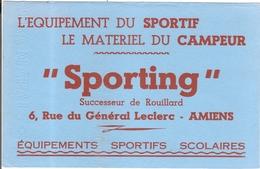 Buvard Sporting Successeur Rouillard 6 Rue Du Général Leclerc Amiens 80 Somme - Sport