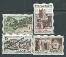 Mauritanie  N° 193 / 96  X  Tourisme Et Archéologie. Les 4 Valeurs Trace De Charnière SinonTB - Mauretanien (1960-...)
