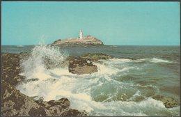 Godrevy Lighthouse, Gwithian, Cornwall, C.1970s - Jarrold Postcard - England