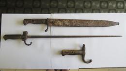 LOT BAIONNETTE WW1 - Armes Blanches