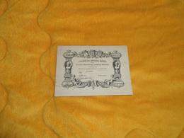 CARTE SOCIETE DES ANCIENS ELEVES DES ECOLES NATIONALES D'ARTS & METIERS...CACHET AU DOS  / DULOS SC. 1860 ?. - Vieux Papiers