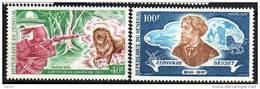 Sénégal N° 366 / 67  XX  75ème Anniversaire De La Mort D'Alphonse Daudet La Paire TB - Senegal (1960-...)