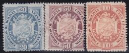 Bolivia       .   Yvert    .   43/45     .       *     .  Ongebruikt    .     /    .     Mint-hinged - Bolivië