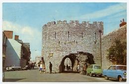 TENBY : FIVE ARCHES  / POSTMARK & SLOGAN - TENBY TOURIST GUIDE ADVERT, 1970 - Pembrokeshire