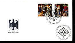 40913) BRD - Mi 1831 / 1832 - FDC - 80+40-100+50Pf   Weihnachten 95 - FDC: Brieven