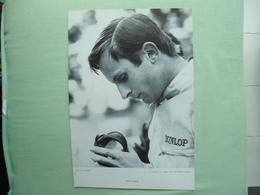CHRIS AMON -  29 X 20 Cm Portrait Par Seufert - Années '60 - Pilote Ferrari Formule 1 ... - Car Racing - F1