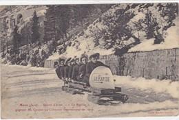 """Jura - Morez - Sports D'hiver - """"le Rapide"""" - Gagnant Des Coupes Au Concours International De 1909 - Morez"""