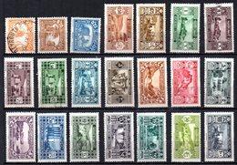 Col9  Grand Liban :  N° 128 à 148 Neuf  X MH Et Oblitéré , Cote : 149,00 Euro - Great Lebanon (1924-1945)