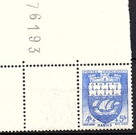 "ARMOIRIES - 1942: 4F+5F  ""Nantes""  N° 562** - Unused Stamps"