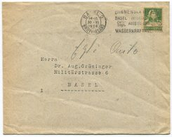 1844 - PERFIN + Auf Umschlag Von BASEL - Schweiz