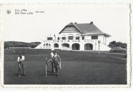 Coq S/Mer (De Haan A/Zee) - Golf Club 1958 - De Haan