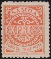 Samoa      .   Yvert   2     .       (*)      .  Geen Gom   .     /    .     No Gum - Samoa