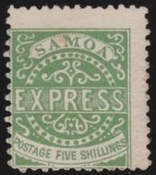 Samoa      .   Yvert   7      .       (*)      .  Geen Gom   .     /    .     No Gum - Samoa