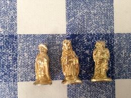 3/40 Feves Santons Dorés Arguydal Petite Taille 2cm - Santons