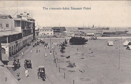 Yemen The Crescent Aden Steamer Point - Yémen