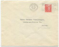 1849 - PERFIN GZ Auf Firmenumschlag Von BASEL - Schweiz
