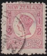 New Zealand     .   Yvert     37a      .        O      .   Gebruikt    .     /    .     Cancelled - 1855-1907 Kronenkolonie