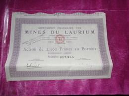 MINES DE LAURIUM - Unclassified