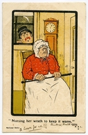 COMIC : NURSING HER WRATH - ROBERT BURNS / ADDRESS - EVEREST FARM, SEVENOAKS - England
