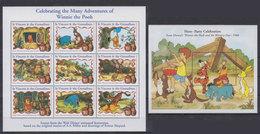 St. VINCENT 1998 - Disney Winnie Pooh - Mi 4349-57 + B454; CV=13.5 € - Fumetti