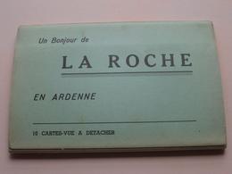 Un Bonjour De LA ROCHE En Ardenne ( Carnet Avec 10 Carte-Vue A Detacher ) LANDER Eupen ( Zie Foto Details ) ! - La-Roche-en-Ardenne