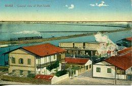 003797  Suez - General View Of Port-Tewfik - Sues