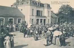 Saint Junien (87 - Haute Vienne) Concours De Pêche - Arrivée Des Pêcheurs - Saint Junien