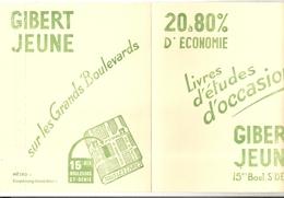 Lot 2 Buvard Gibert Jeune - Stationeries (flat Articles)