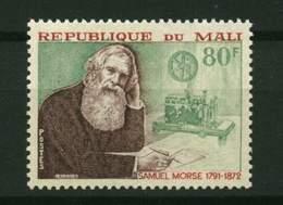 Rep. Mali** N° 171 - Cent. De La Mort De Samuel Morse - Mali (1959-...)