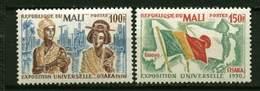 Rep. Mali** N° 133/134 - Expostion D'Osaka - Mali (1959-...)