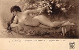 Salon 1907 - Tableau Peinture - ROUSTAUX  DARBOUR  - Nue Feminin - Paintings