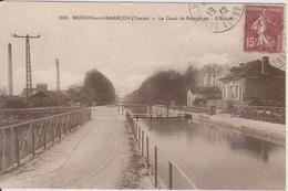 D89 - BRIENON SUR ARMANCON - LE CANAL DE BOURGOGNE - L'ECLUSE - Brienon Sur Armancon