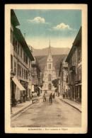 73 - ALBERTVILLE - RUE GAMBETTA ET L'EGLISE - Albertville